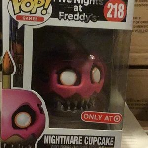 Funko 218 nightmare cupcake